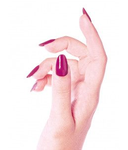 manicure semipermanente viola