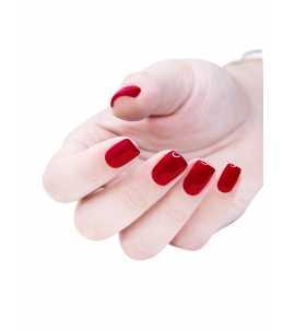 Semipermanente unghie rosso Afrodite san valentino
