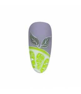 nail art carnevale Semipermanente Verde Fluo Lime