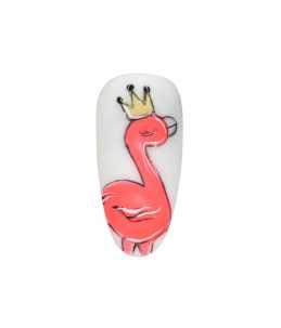 nail art carnevale Semipermanente Rosa Fluo