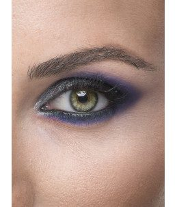 Ombretto blu Eclectic black friday makeup