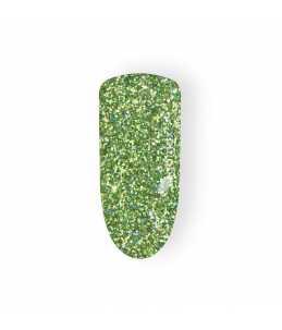 Glitter Unghie verde