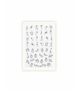 Adesivi decorazioni unghie