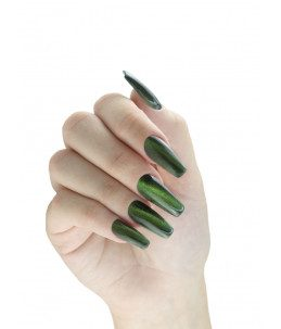 smalto colore verde 3d magnetico