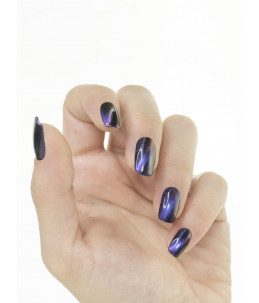 Smalto colore viola 3d magnetico