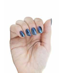 Smalto magnetico colore blu 3d