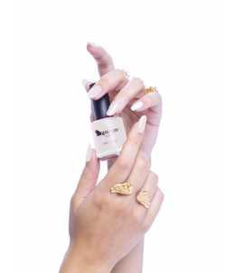 Smalto per unghie Bianco Perlato
