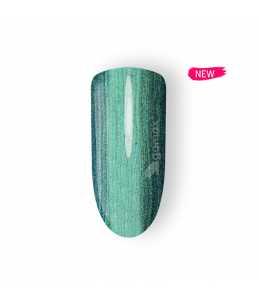 semipermanente unghie azzurro metallizzato