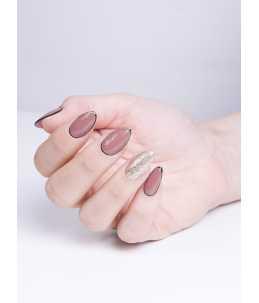 semipermanente professionale unghie rosa antico