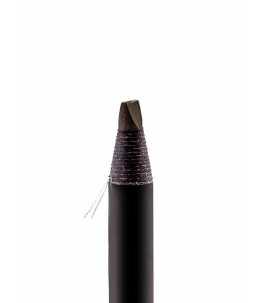 matita sopracciglia effetto microblading marrone scuro dettaglio mina