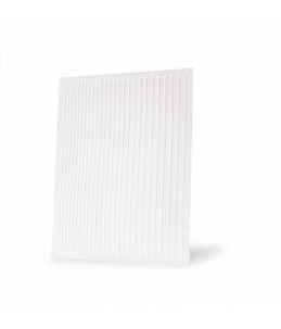 strisce adesive per le unghie nail art bianco