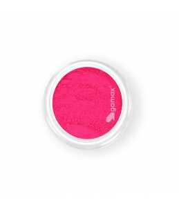 pigmento polvere fucsia neon per unghie