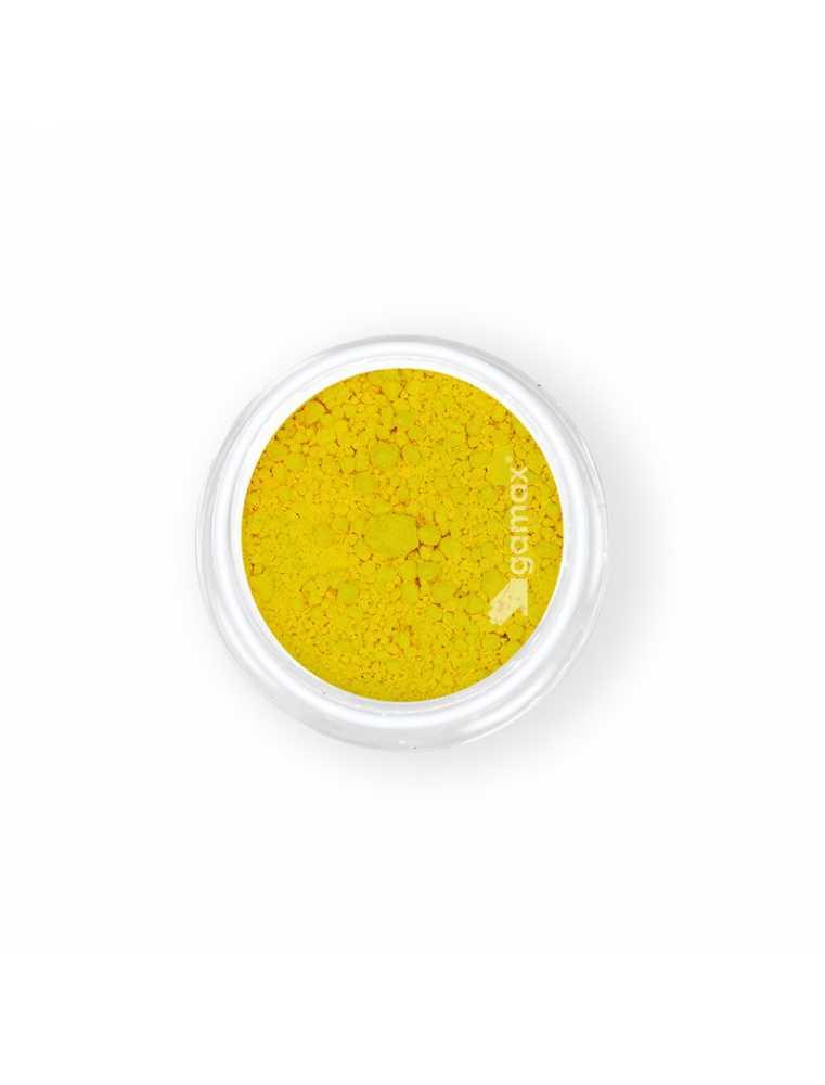 pigmento polvere per nail art carnevale giallo neon