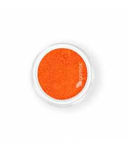pigmento unghie arancione neon decorazione nail art