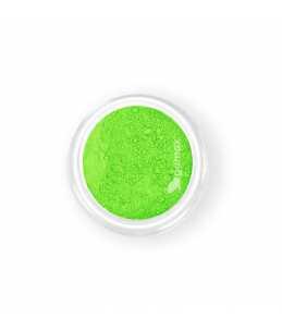 pigmento polvere per nail verde fluo