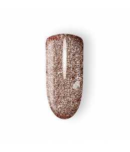 gel unghie dorato glitter
