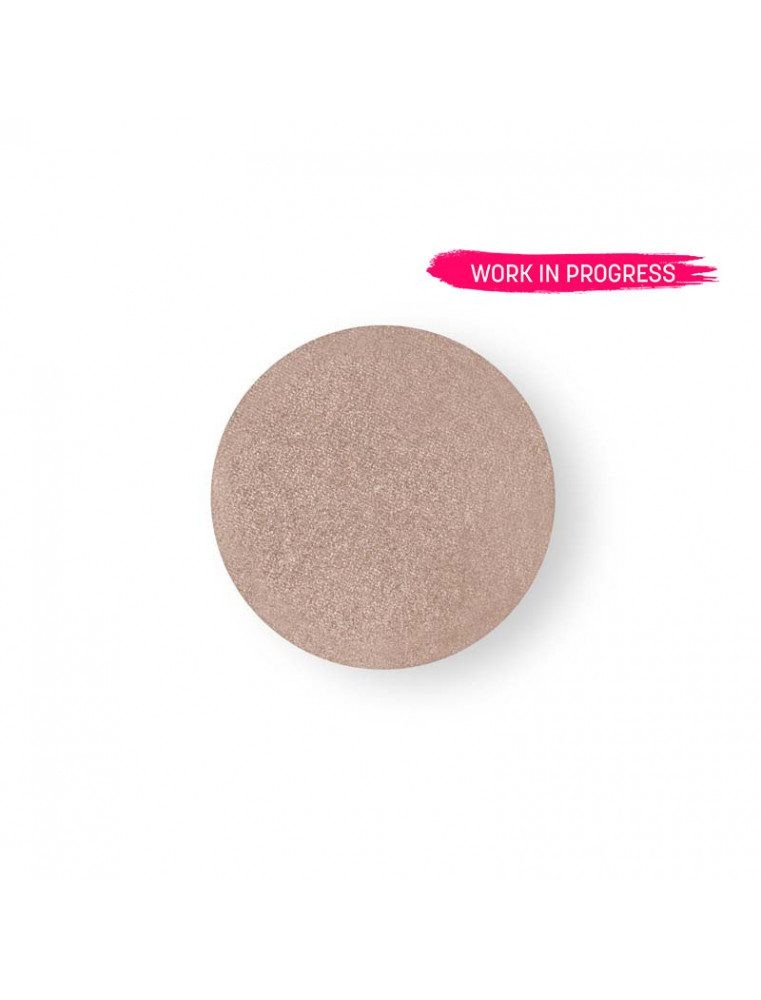 ricarica per ombretto occhi rosa glitter cialda trucco