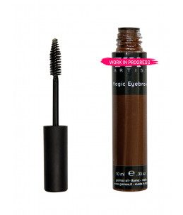 mascara gel per ciglia marrone