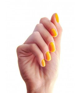 manicure unghie gialle