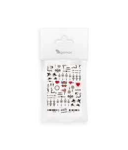 adesivi ad acqua per unghie nail art arabesque