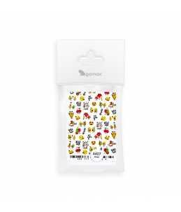 adesivi per unghie ad acqua nail art emoji