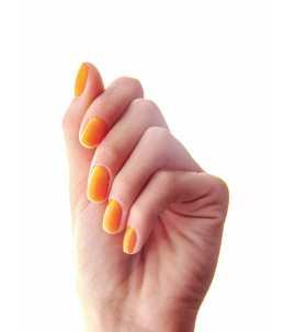 manicure professionale arancione