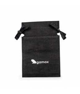 sacchetto nero per smalti con logo gamax