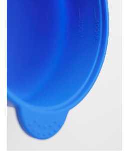 Vaschetta per cera in perle blu