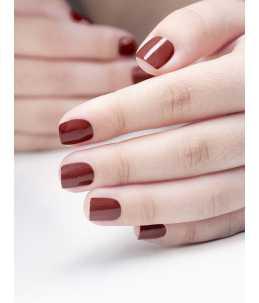 smalto unghie rosso scuro da 15 ml