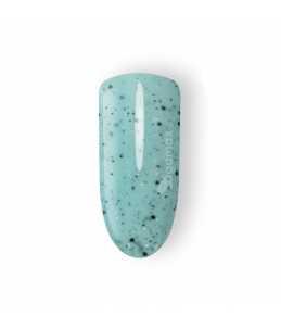 semipermanente verde per unghie effetto schizzo di vernice