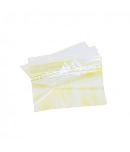 art foil giallo per unghie effetto cangiante