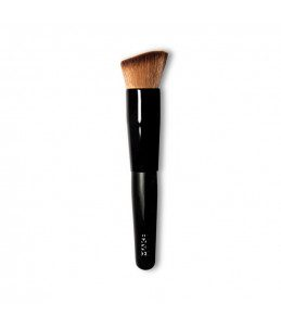 Oblique foundation brush