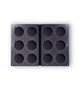 Palette Pelle 12 incastri diametro 59 mm