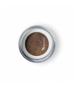 Polvere Acrilica Marrone Glitter